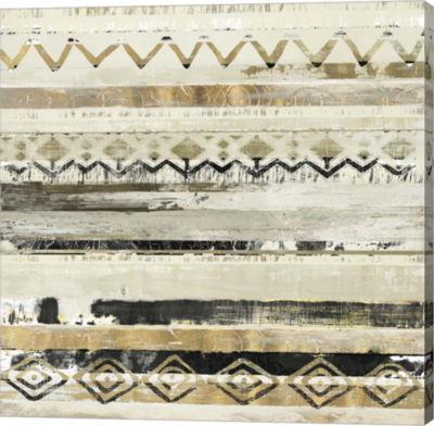 Metaverse Art African Patchwork II Canvas Art