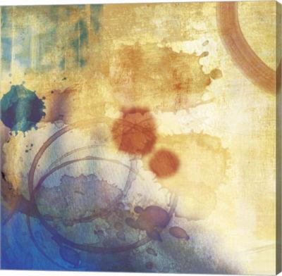 Metaverse Art Tie Dye B Canvas Art