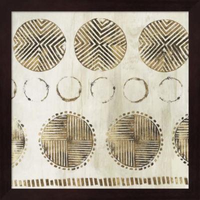 Metaverse Art African Pattern Framed Wall Art
