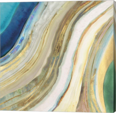 Metaverse Art Agate I Canvas Art