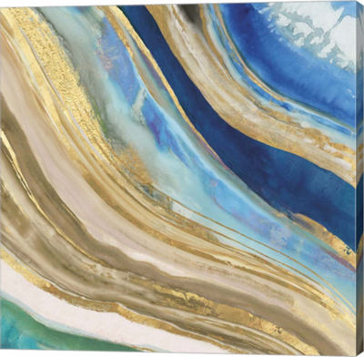 Metaverse Art Agate II Canvas Art