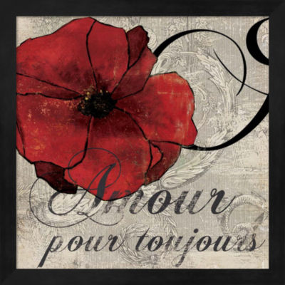 Metaverse Art Amour Toujours Framed Wall Art