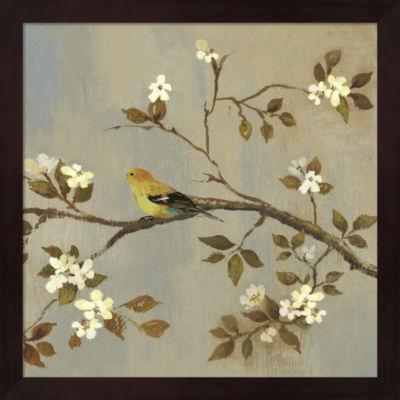 Metaverse Art Apple Bloom II ( conversation) Framed Wall Art