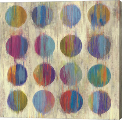 Metaverse Art Ikat Dots II Canvas Art