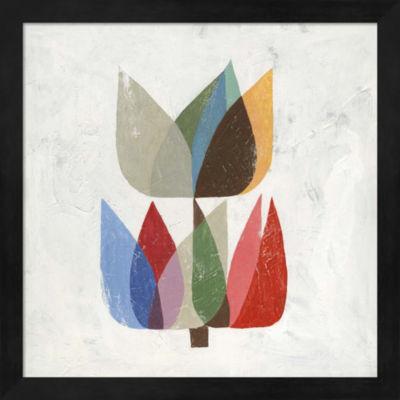 Metaverse Art Tulip I Framed Wall Art