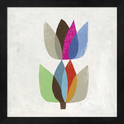 Metaverse Art Tulip II Framed Wall Art