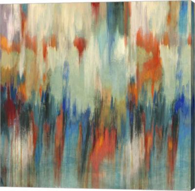 Metaverse Art Aurora Canvas Art