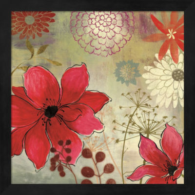 Metaverse Art In The Garden I Framed Wall Art