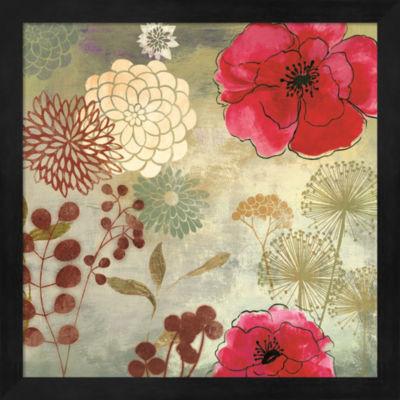 Metaverse Art In The Garden II Framed Wall Art