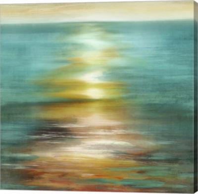 Metaverse Art Under Brilliance Canvas Art
