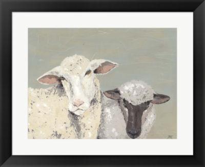 Metaverse Art Sweet Lambs I Framed Wall Art