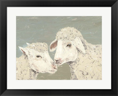 Metaverse Art Sweet Lambs II Framed Wall Art