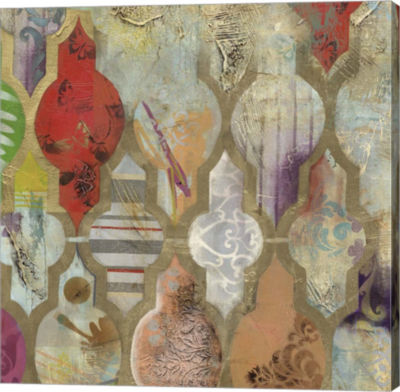 Metaverse Art Infinite Currents III Canvas Art