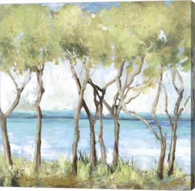 Metaverse Art Beachside Canvas Art