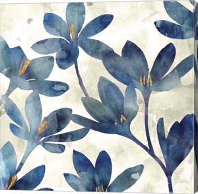 Metaverse Art Veranda Blue II Canvas Art