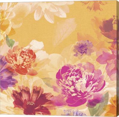 Metaverse Art Vintage Floral I Canvas Art