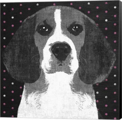 Metaverse Art Beagle Canvas Art