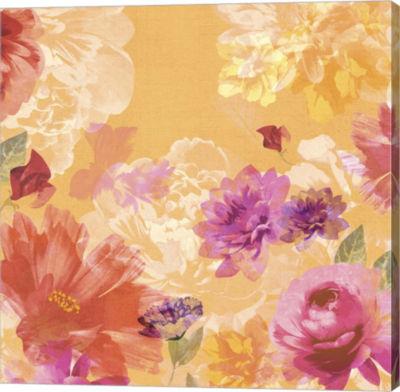 Metaverse Art Vintage Floral II Canvas Art
