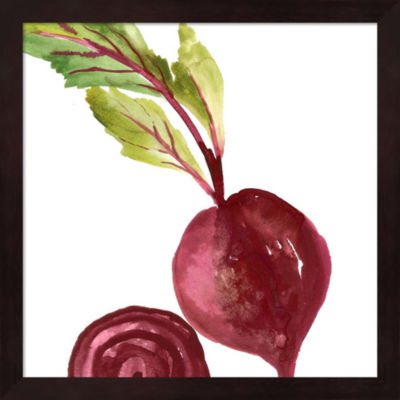 Metaverse Art Beet Framed Wall Art