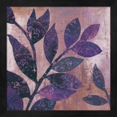 Metaverse Art Viola I Framed Wall Art