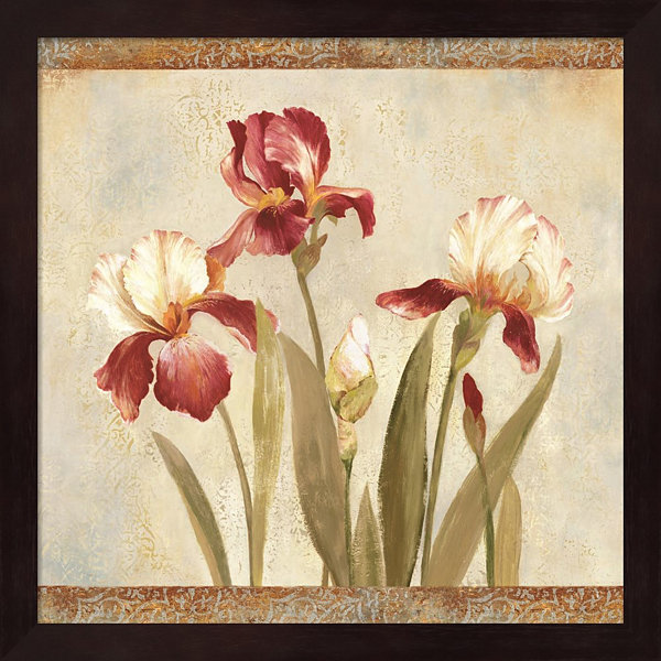 Metaverse Art Iris Tapestry II Framed Wall Art