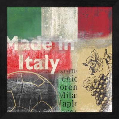 Metaverse Art Italy Framed Wall Art