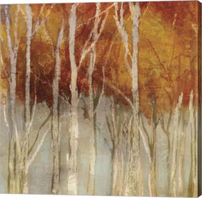 Metaverse Art Belgium Forest I Canvas Art