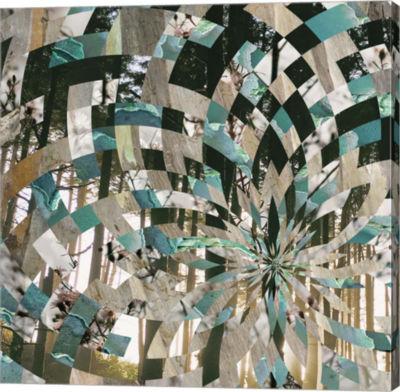 Metaverse Art Kaleidoscope Visions I Canvas Art