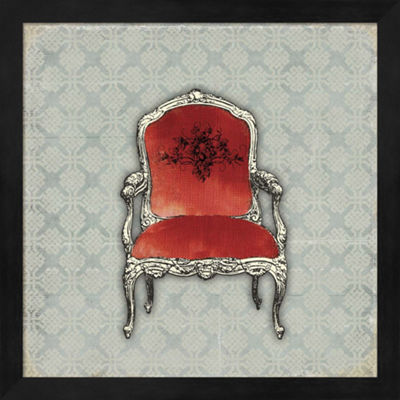 Metaverse Art Bergere II Framed Wall Art