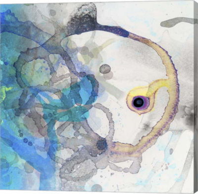 Metaverse Art Watercolour Abstract II Canvas Art