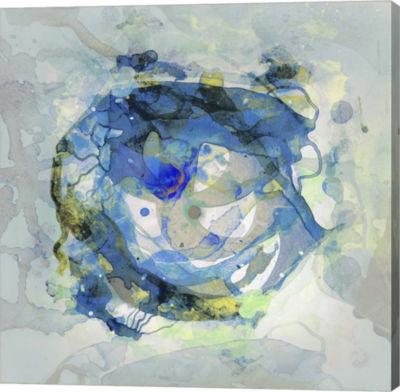 Metaverse Art Watercolour Abstract III Canvas Art