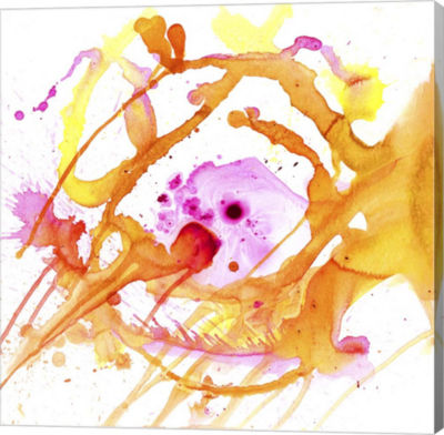 Metaverse Art Watercolour Abstract V Canvas Art