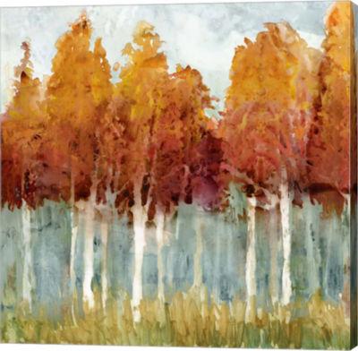 Metaverse Art Birch II Canvas Art