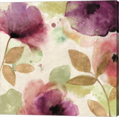 Metaverse Art Watercolour Florals II Canvas Art