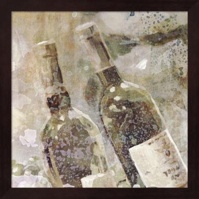 Metaverse Art Wedding Wine II Framed Wall Art