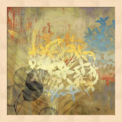 Metaverse Art Wildflowers Framed Wall Art
