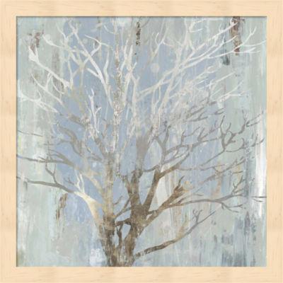 Metaverse Art Winter Tree Framed Wall Art