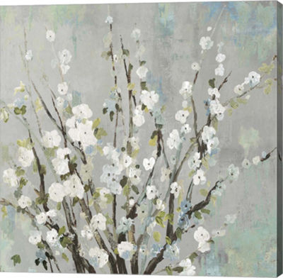 Metaverse Art Fresh Pale Blooms I Canvas Art