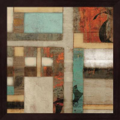 Metaverse Art Lausa II Framed Wall Art