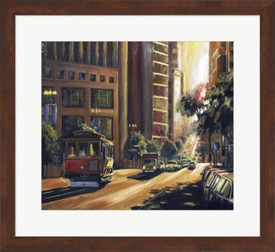 Metaverse Art Ray of Light Framed Wall Art