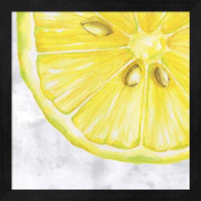 Metaverse Art Fruit II Framed Wall Art