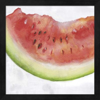 Metaverse Art Fruit III Framed Wall Art