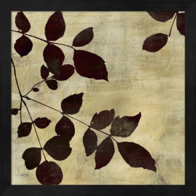 Metaverse Art Leaf Study Framed Wall Art