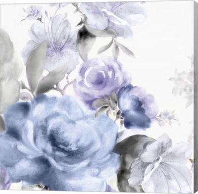 Metaverse Art Light Floral I Canvas Art