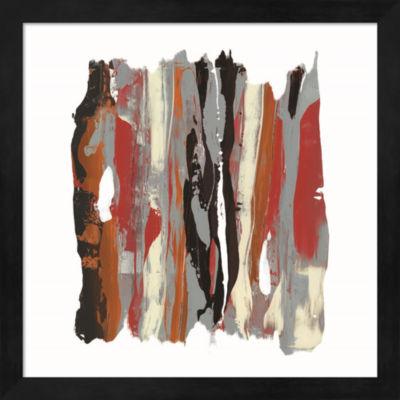 Metaverse Art Like Rain III Framed Wall Art
