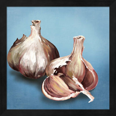 Metaverse Art Garlic Framed Wall Art
