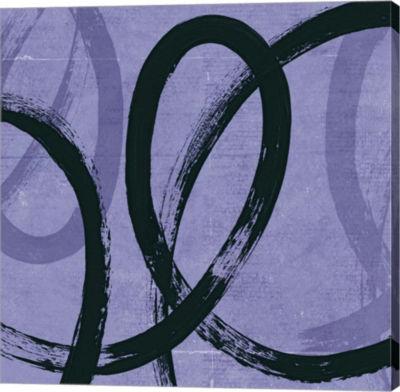 Metaverse Art Loopy II Canvas Art