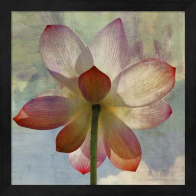 Metaverse Art Lovely Lily II Framed Wall Art