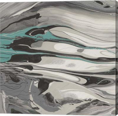 Metaverse Art Marble Dust II Canvas Art
