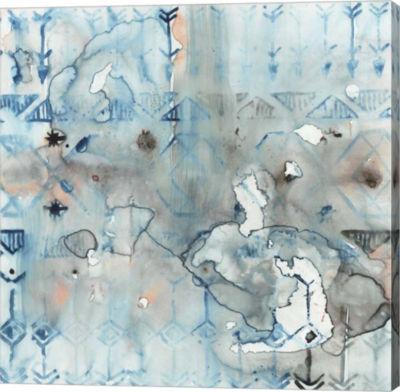 Metaverse Art Mezzoteal I Canvas Art